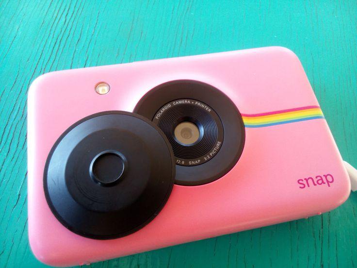 Polaroid Snap 10.0 MP Digital Camera - PINK with 10 polaroid zink paper #Polaroid