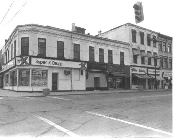 Colborne & Market Streets, N.W. corner