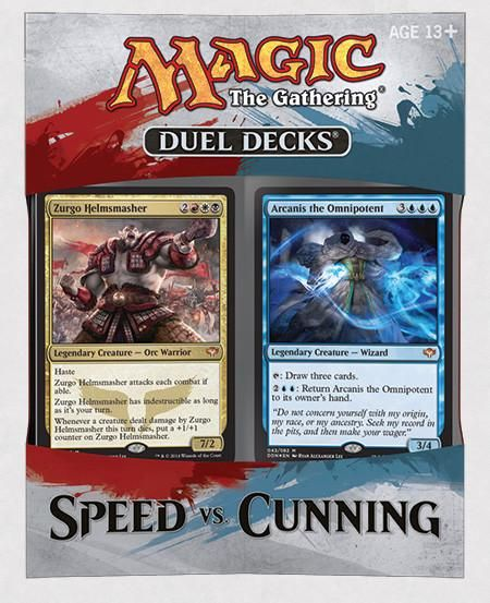 MTG: Speed vs Cunning | Duel Decks