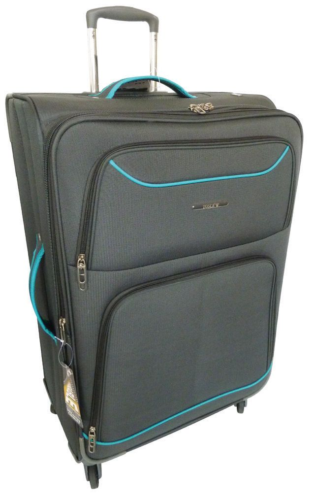 Tosca Platinum Spinner - 60cm Trolley Case - R1100 https://www.luggageladies.com/index.php?route=product/search Features: Lightweight and Durable, 4 Wheels for Extra Manoeuvrability, Push Button Handle, Lightweight Aluminium Handle, Extra Corner Protectors, Expandable Gusset, 3mm Ripstop, Zip Locking Sliders,  Tonal Internal Straps, 210D Full Lining Available Colours: Red, Black/Grey #spinner #luggageladies #valueformoney #luggage #getsome