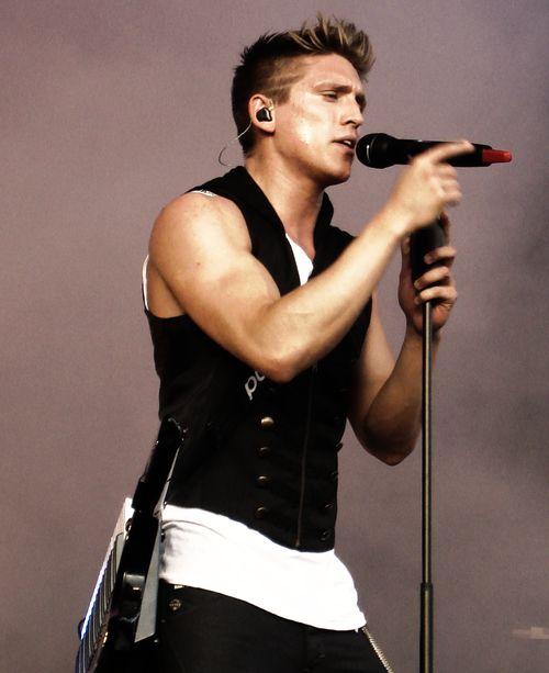 Swedish pop star Danny Saucedo