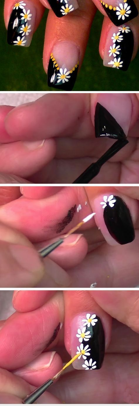 Black + White Dotticure | Awesome Spring Nails Design for Short Nails | Easy Summer Nail Art Ideas