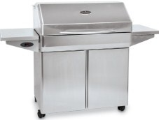 Memphis Elite 304 Pellet Grill   This wood burning Pellet grill & Smoker is largest in the line up and is an unbelievably versatile cooker.