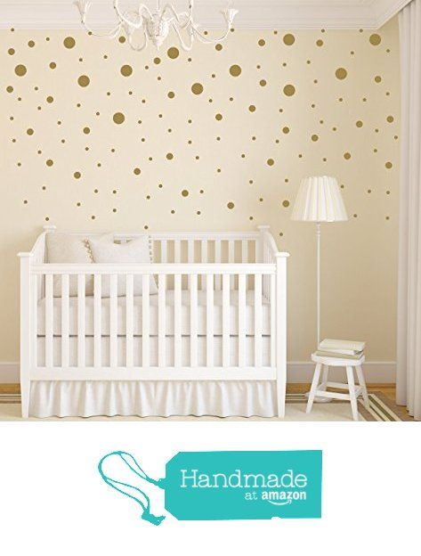 Gold Dot Nursery, Wall Decals, 125 Polka Dot Wall Stickers from Lulu Girl Designs http://www.amazon.com/dp/B017UOCA0G/ref=hnd_sw_r_pi_awdo_EWegxb0GRRC94 #handmadeatamazon