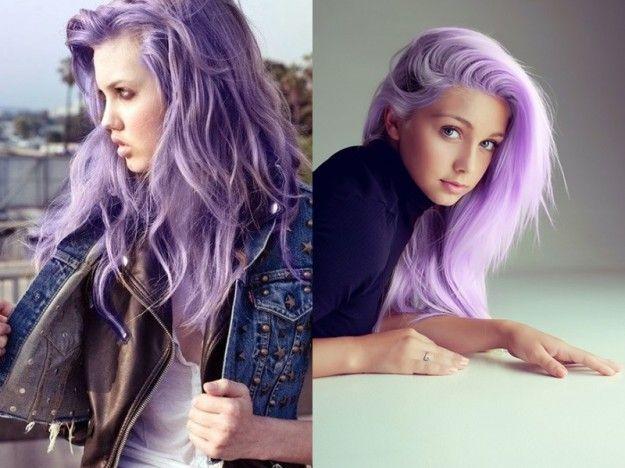 Colore capelli Primavera/Estate 2014: il lilla [FOTO]   Stylosophy
