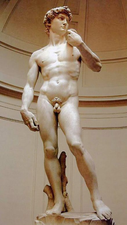 David by Michalangelo @ Galleria dell'Accademia, Florence