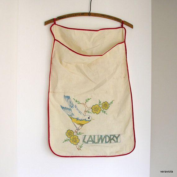 Vintage Laundry Bag 46