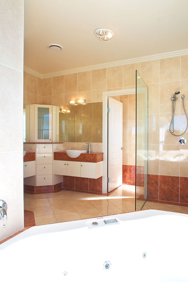 High spec marble and two-pack finish complements any luxury property