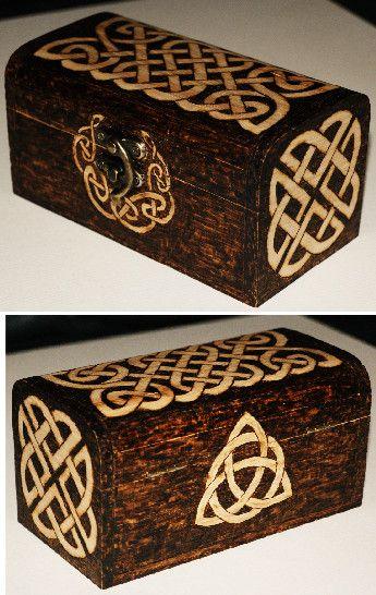Celtic box by llinosevans.deviantart.com on @deviantART