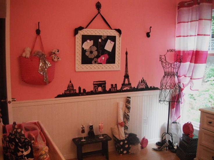 78 best paris themed bedrooms images on pinterest