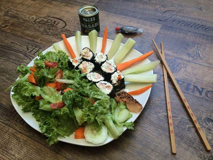 Low Carb Sushi? Das beste Sushi, das du jemals gegessen hast! Zum Rezept