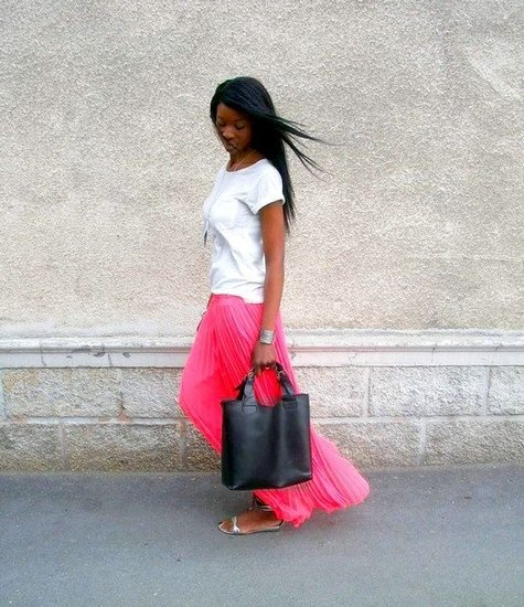 Street Style May 25, 2012, love the skirt!