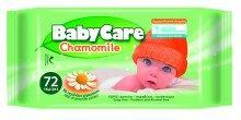 Μωρομάντηλα Babycare με χαμομήλι (72τεμ) -0.70€