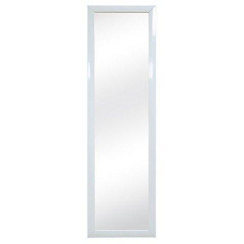 Room Essentials™ Over the Door Mirror - White