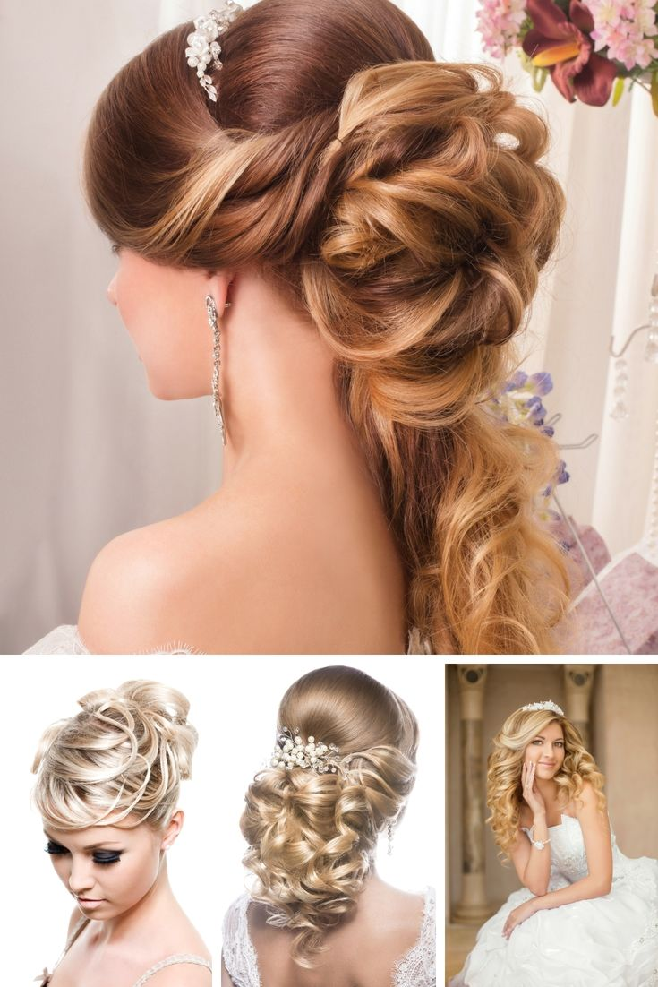 Wedding Hair Model The Loveliest Looks To Do The Job On Your Wedding Day Have A Look At Our New Website For More Details Coiffure Mariage Coiffure Mariage