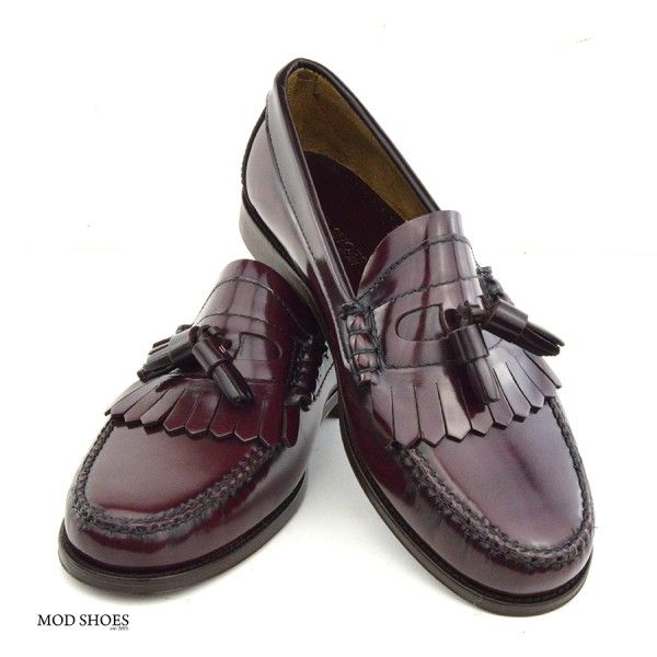 716b93146c7 Oxblood Tassel Loafers – The Prince – Mod Shoes
