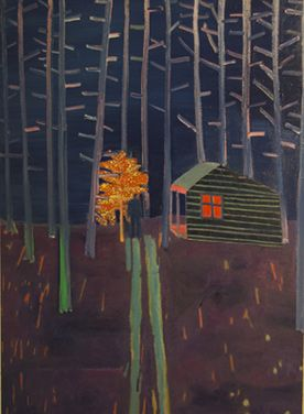 Saw this & more at Brighton Museum today: Cabins Toms, 2011 Dreams, Museums Today, Fine Art, Brighton Museums, Toms Hammick, Hammick 2011, Contemporary Paintings, Art Galleries