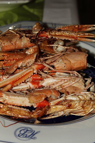 škampi - večeře v Dubrovniku