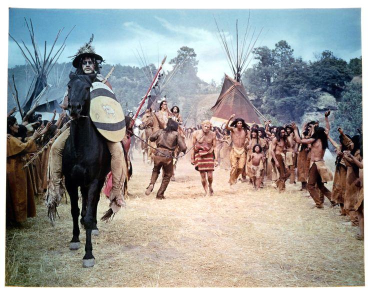 Richard Harris in Horse (1970) http://www.movpins.com/dHQwMDY2MDQ5/a-man-called-horse-(1970)/still-3033254912