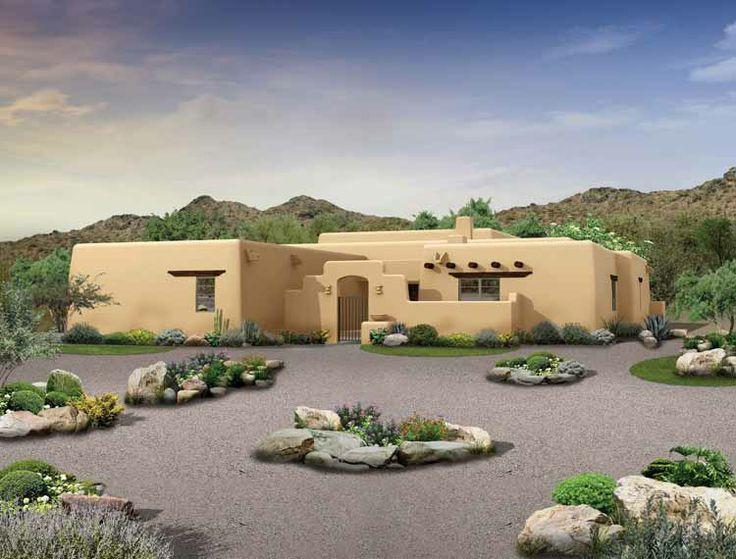 small pueblo style house plans - Pueblo Style Home Plans