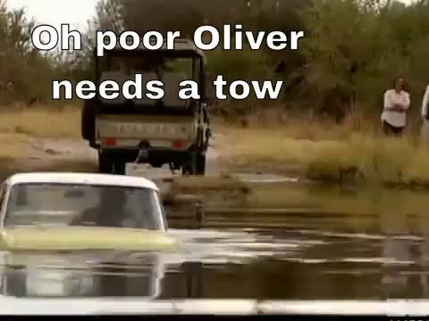 Oh poor Oliver needs a tow #BBCA #TopGear #ConnecTV