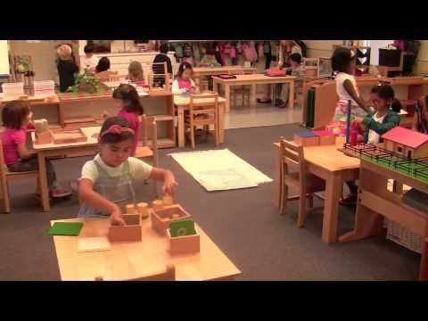 These math activities for children are incredible.  I want to know...what percentage of Montessori-trained students go on to become mathematicians and scientists?  Is it a high percentage?...Montessori Sensorial Exercises - YouTube