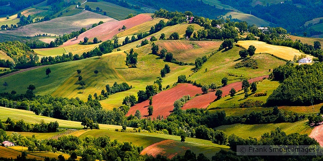 Colors from Frontone in #LeMarche - #Italy
