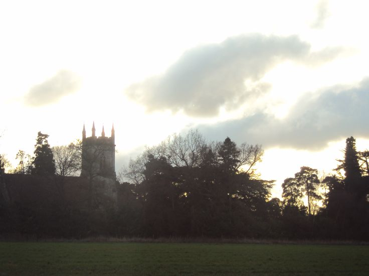 A church on the way near Bearwood forest