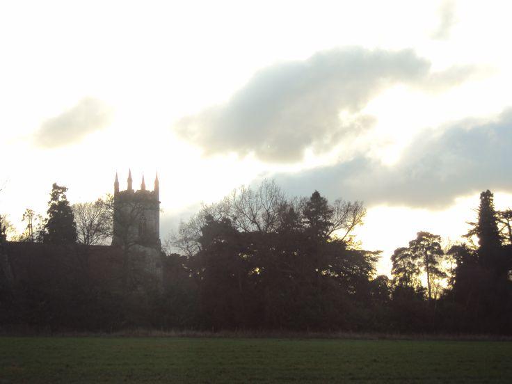 A church on the way near Bearwood forest