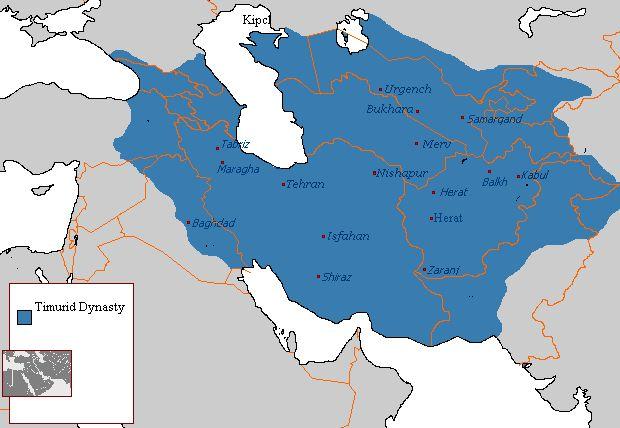 Timurid Dynasty 821 - 873