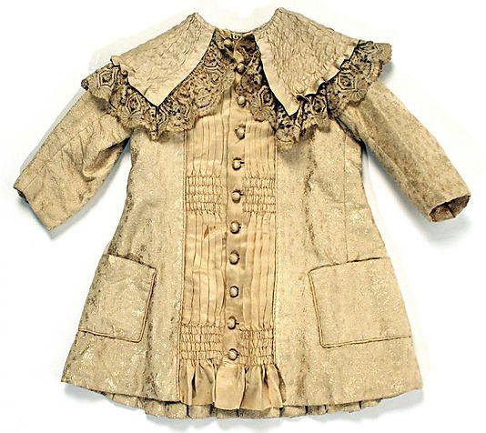 1882 Coat Culture: American Medium: silk
