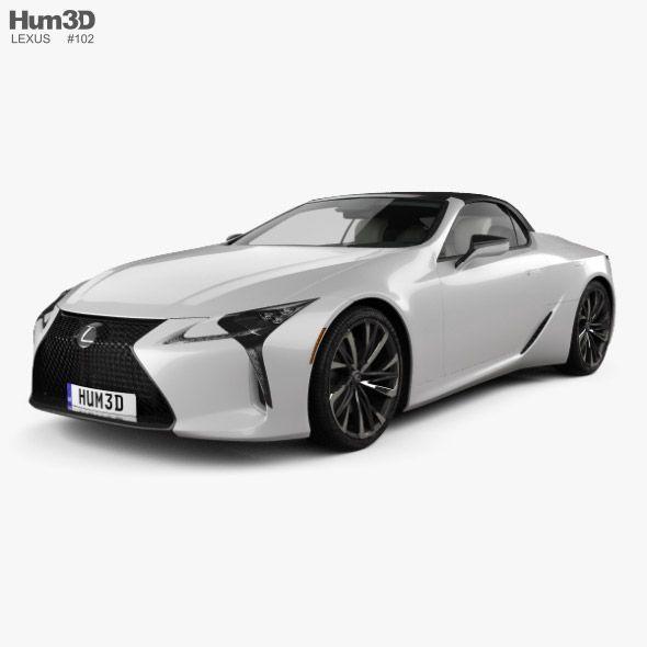 Lexus Lc Convertible 2019 Fully Editable And Reusable 3d Model Of A Car 3d 3dmodel 3ddesign 2 Door 2019 2022 Cabrio Cabriol In 2020 Lexus Lc Lexus Convertible