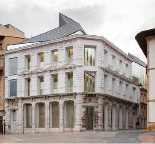 Museum Of Fine Arts Of Asturias In Oviedo (Spain) By Francisco Mangado From  Mangado