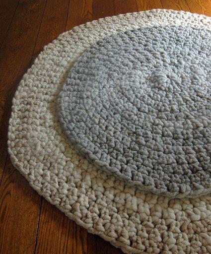 Big Stitch Crocheted Alpaca Rugs!   Purl Soho