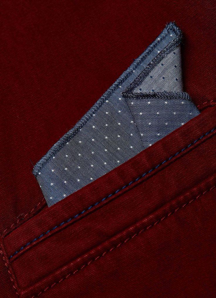 Suit jacket detail. ROY FW16.