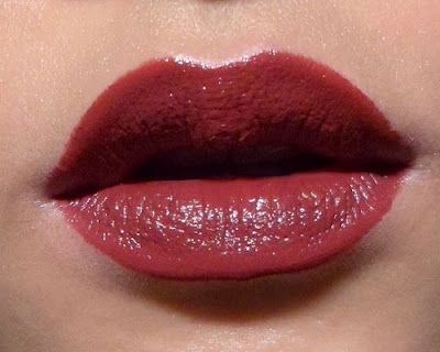Short article about rage lipstick swatch