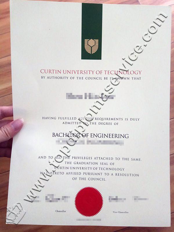 Curtin University Diploma Curtin University Degree Buy Fake