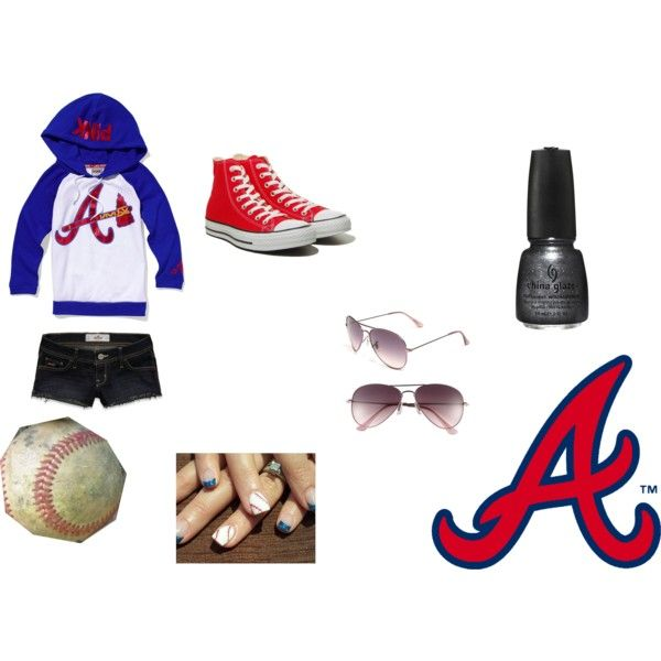 Cute Braves game outfit :)