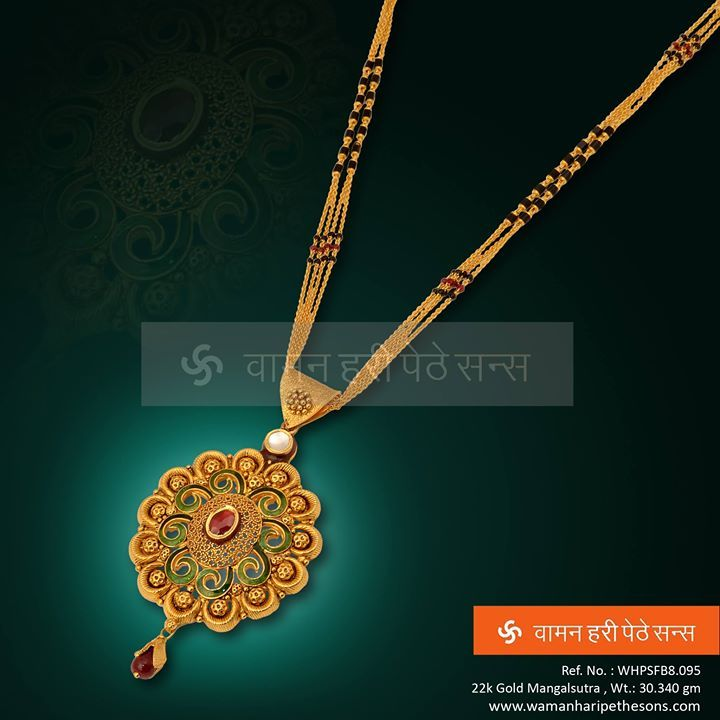 #Amazing #stunning #designer #traditional #gorgeous #gold #mangalsutra just for you.