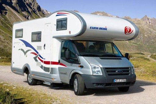 group c4 - family plus - motorhome rental in Germany.