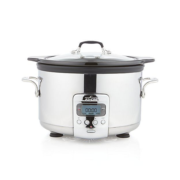 All-Clad ® 4 qt. Slow Cooker | Crate and Barrel