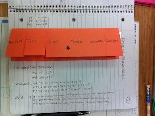 place value foldable 5th grade | Place Value and Math Journals