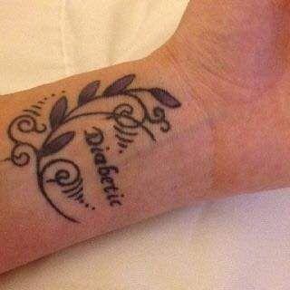 Pin by Cynthia Haché on Tatouages in 2020 | Diabetes tattoo, Medical alert tattoo, Medical tattoo