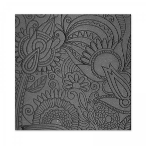 Texturovací plátek pro práci s polymerovou hmotou, metal clay, keramickou hlínou nebo na ...