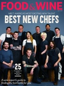 Food & Wine Magazine, July 2013 (searchable index of recipes)