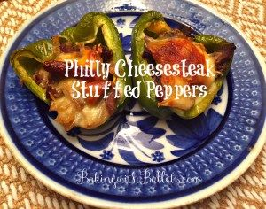 This Philly Cheese Steak stuffed pepper recipe is delicious! An easy and fun family dinner night!