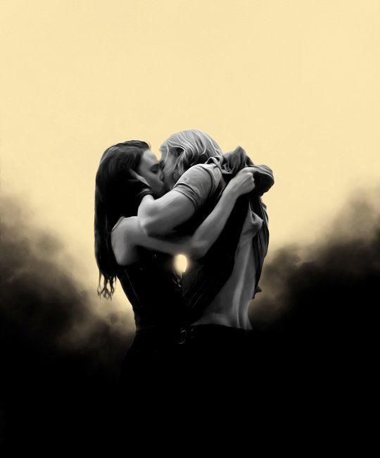 Amberle and Wil #Shannara