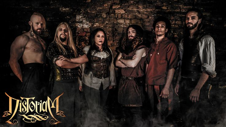 Distoriam is:  Frakkur the Wise - Vocals, Irish Bouzouki  Sir Thomas Samæl Friedrik Rex I - Vocals, Rhythm Guitars  Stormblood - Bass, Back Vocals  Marküs BlackThòrn - Drums  Sabb Masersdottir - Keytar, Back Vocals  Volcanthor - Lead Guitars