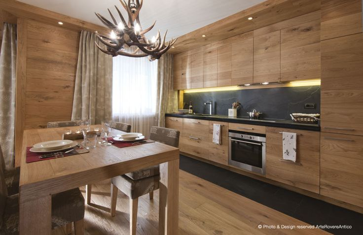 Modern wood kitchen by Arte Rovere Antico || Photo by Duilio Beltramone for Sgsm.it ||
