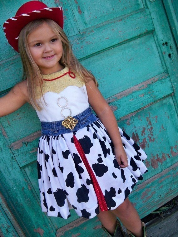 Jesse Inspired Dress, Toy Story Costume